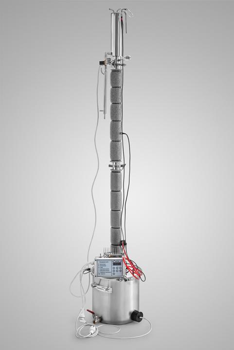 Ректификационная колонна для самогонного аппарата