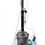 Профи 38л (32+6) с толстой (2мм) купольной крышкой-кламп с ТЭНом и автоматикой АМПБУ 4.0  (выбор комплектации)